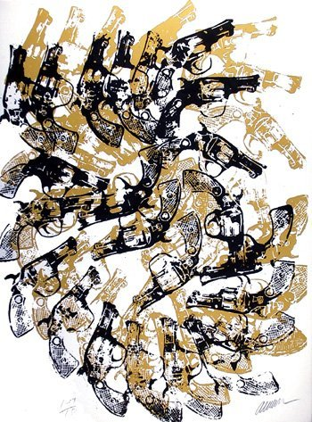15: Arman, Yang & Bang, Serigraph