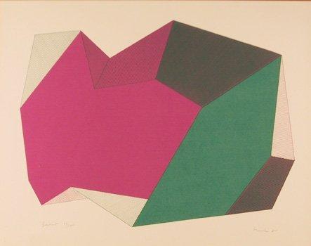 17: Jean-Marie Haessle, Breakout, Serigraph