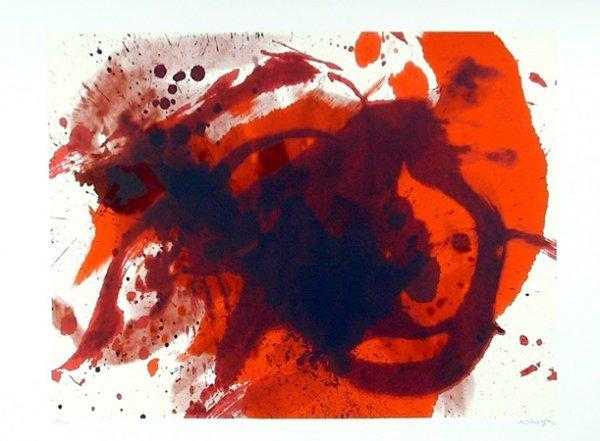 18: Kazuo Shiraga, Passionate Winner, Silkscreen