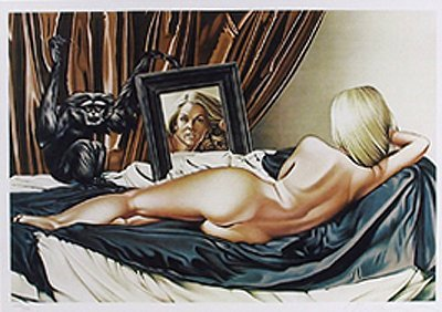 24: Mel Ramos, Velasquez Vision, Lithograph