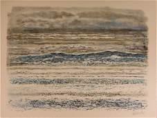 159: Georges Schreiber, La Mer, Lithograph