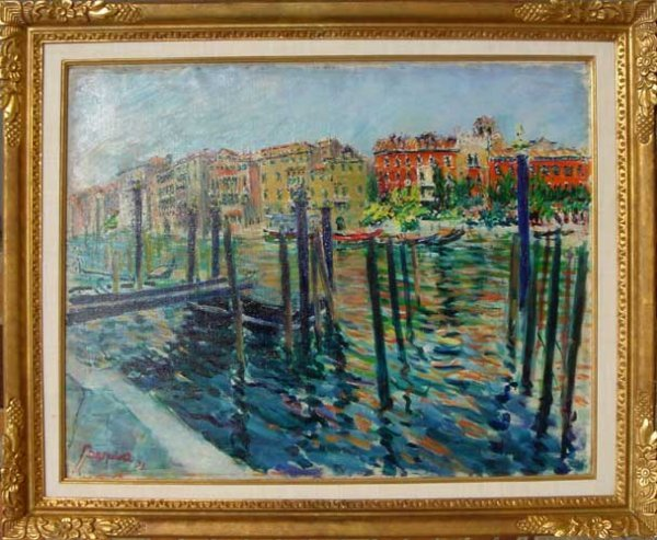 4: Dimitrie Berea, Red Palace Grand Canal, Venice, Pain