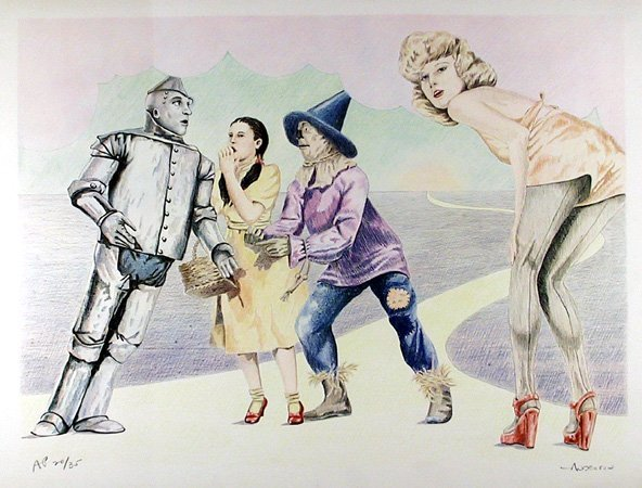 8: Robert Anderson, Wizard of Oz, Lithograph