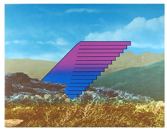 12: Charles Magistro, New Frontier, Serigraph