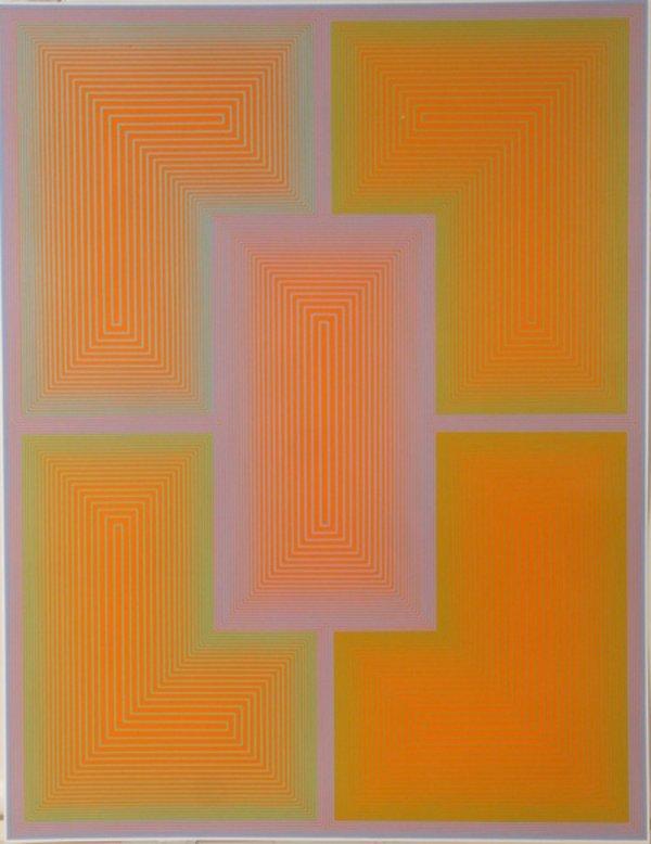 5: Richard Anuszkiewicz, Op-Art, Serigraph