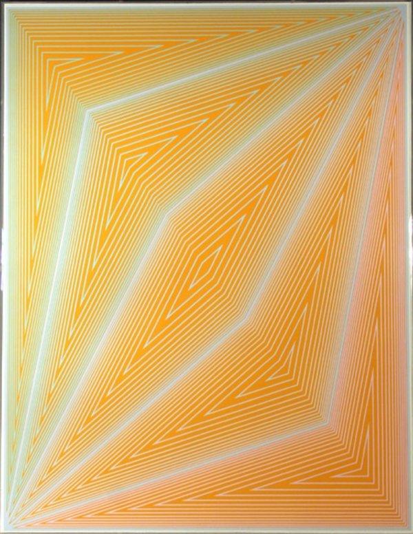 7: Richard Anuszkiewicz, Op-Art, Serigraph