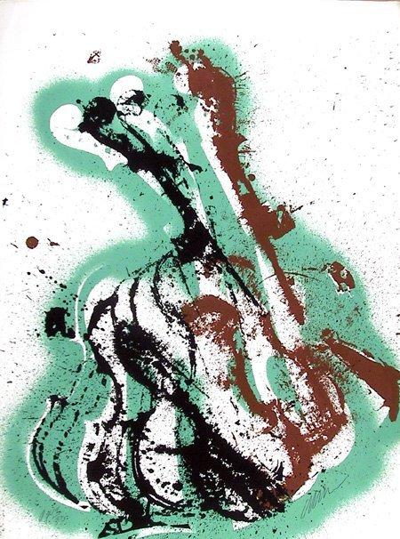 12: Arman, Symphony Pastorale, Serigraph