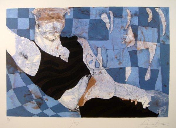 13: Eduardo Arranz-Bravo, Spanish Lithograph