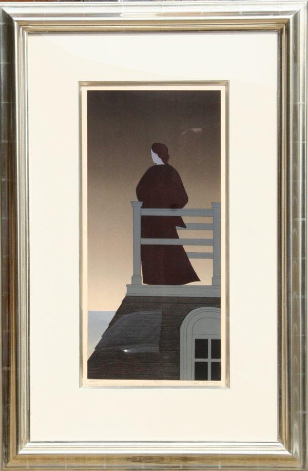 16: Will Barnet, Dawn, Framed Lithograph