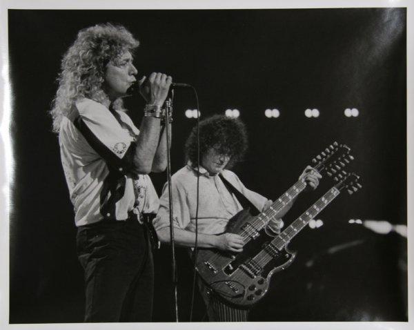 18: Rita Barros, Led Zeppelin, Photograph