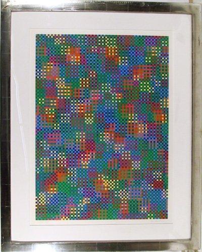 23: Tony Bechara, Etraphy, Framed Serigraph