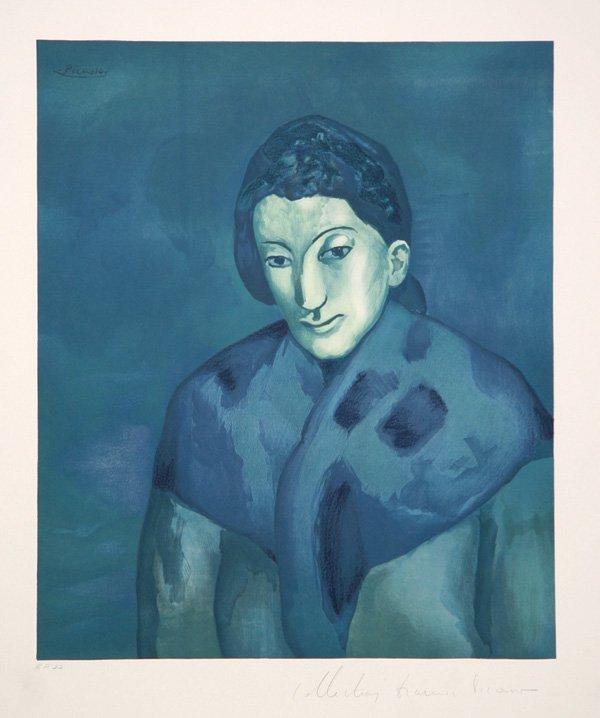 5: Pablo Picasso, Buste de Femme, Lithograph