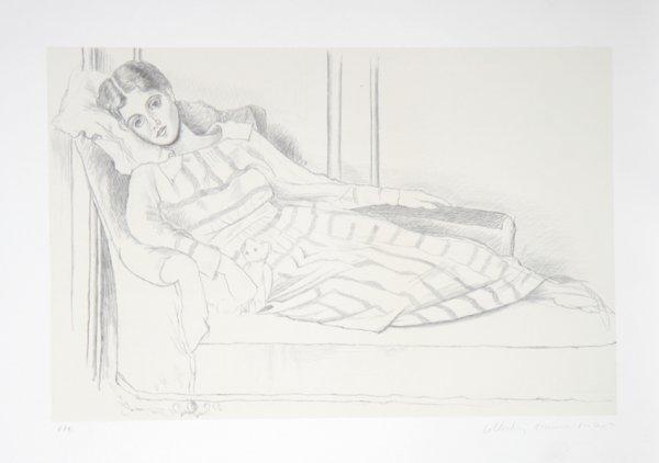 14: Pablo Picasso, Olga Kaklowa, Lithograph