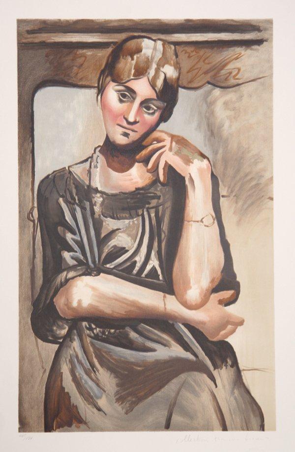15: Pablo Picasso, Olga Picasso, Lithograph