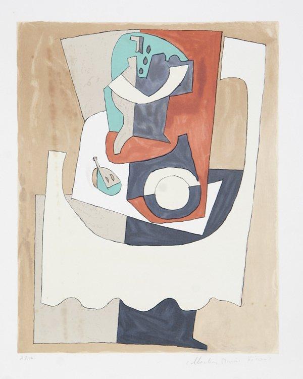 19: Pablo Picasso, Nature Morte Au Gueridon, Lithograph