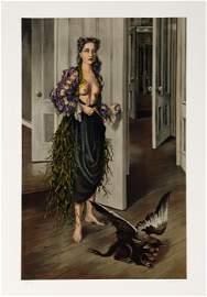 Dorothea Tanning, Birthday (Self Portrait at age 30,