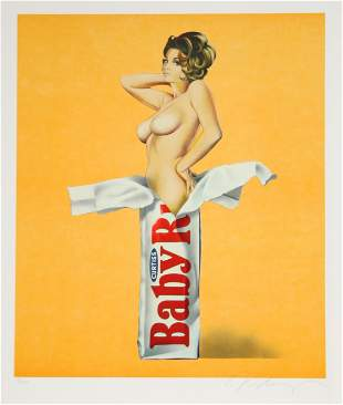 Mel Ramos, Candy, Lithograph