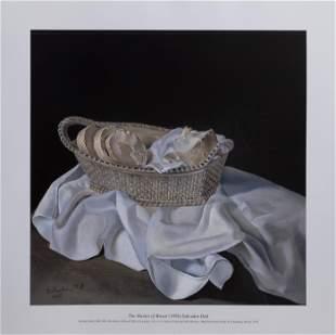 Salvador Dalí, The Basket of Bread, Poster