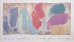 Friedel Dzubas, Works in Progress, Poster