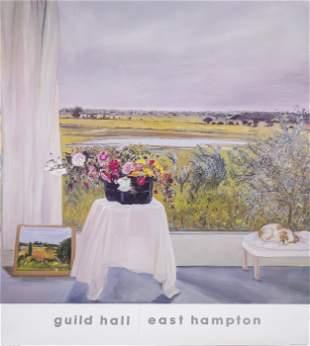 Jane Freilicher, Siesta, Guild Hall, Poster