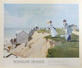 Winslow Homer, Long Branch, New Jersey, Poster on
