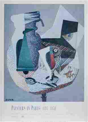 Diego Rivera, Table on a Cafe Terrace, Poster on