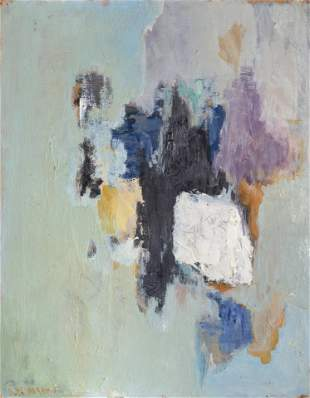 Ruth Abrams, Cluster, Oil Painting
