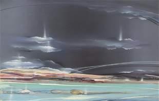 Elba Alvarez, Seascape, Acrylic Painting