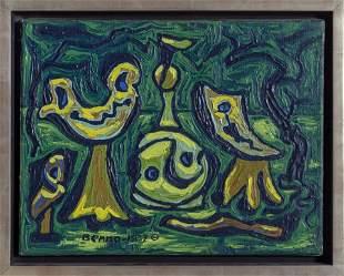 Benjamin Benno, Fetiche, Oil Painting