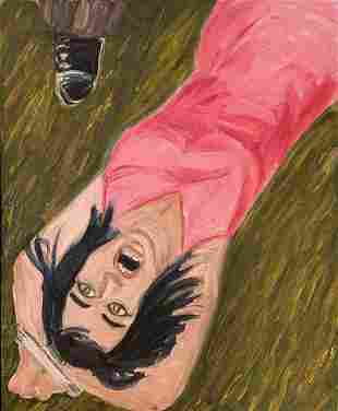 Richard Bosman, Prisoner of Love, Oil Painting