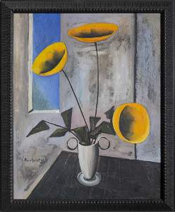 Alvaro Guillot, In Front of the Window (Yellow