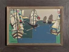 Nancy Warfield, All the Ships at Sea, Oil Painting