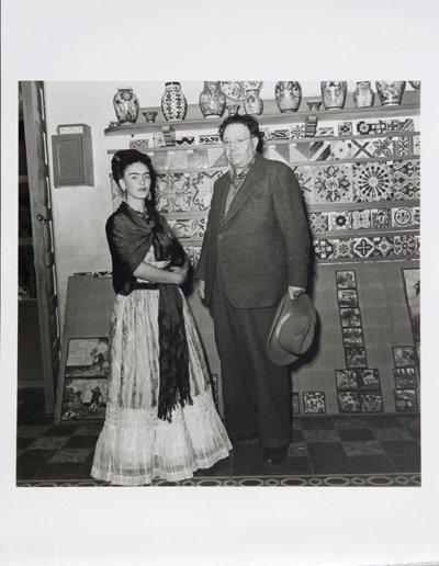2: Leo Matiz, Frida Kahlo & Diego Rivera IX, Photograph
