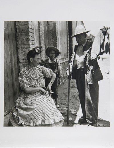3: Leo Matiz, Frida Kahlo VIII, Photograph