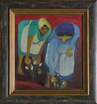 11: Maria Antonieta Souza Barros, Culheitado, Painting