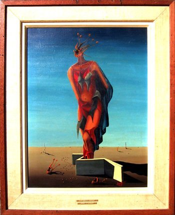 14: Jorge Noceda Sanchez, Harlequin Fantasy, Painting