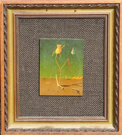 16: Jorge N. Sanchez, Rose, Painting