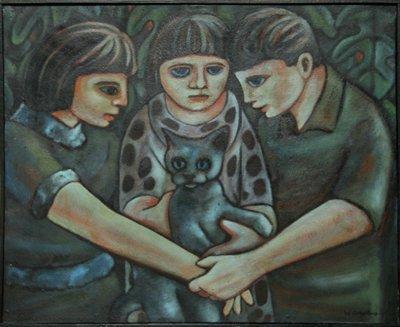19: Wellington Virgolino de Sousa, Children, Painting