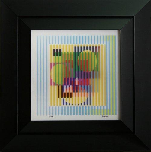 2: Yaacov Agam, Yellow Haze, Agamograph