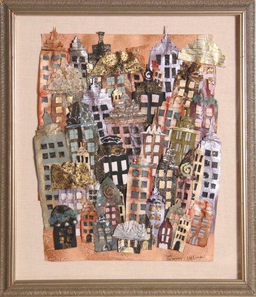 4: Susan Allman, New York City, Collage