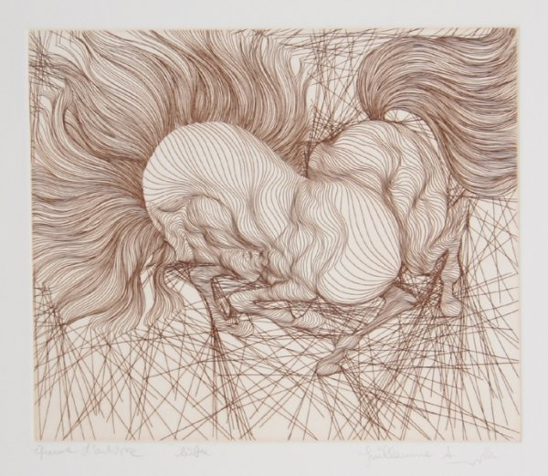 20: Guillaume Azoulay, Libre, Etching