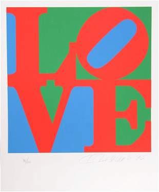 120: Robert Indiana, Book of Love, Portfolio of 12 Silk
