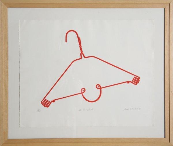 8: Jean Sariano, Acrobate, Intaglio Etching with Aquati