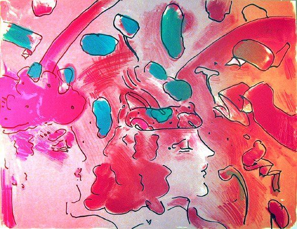12: Peter Max, Reflections II, Lithograph