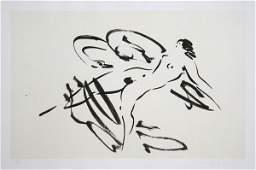 136 Reuben Nakian Leda and the Swan  4 Etching