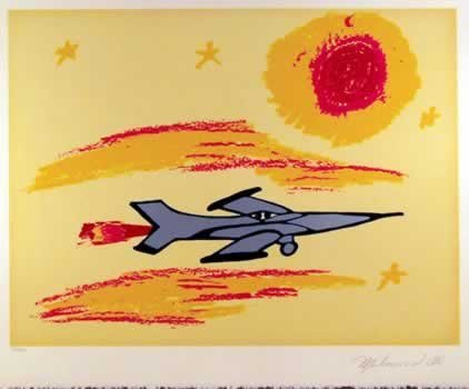 502: Muhammad Ali, Under the Sun, Serigraph