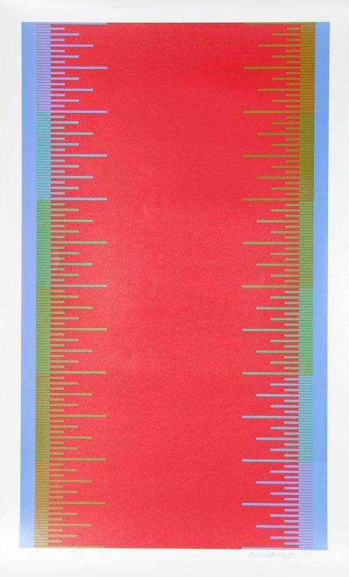 505: Richard Anuszkiewicz, Untitled, Serigraph