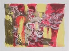 679 Roberto Matta Leau est Mana Lithograph in Color