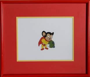 Ralph Bakshi, Mighty Mouse: Canteen, Hand Painted