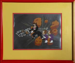 Ralph Bakshi, Mighty Mouse Captured By Oil Can Harry,